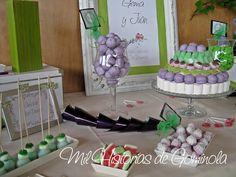 #candybar #boda #chuches #wedding https://www.facebook.com/milhistorias.degominola