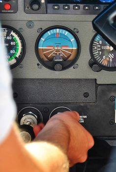 cessna 172 aircraft controls :) I have lots of hours on these bad boys