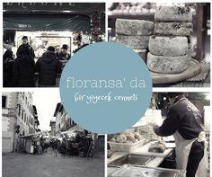 Floransa' da Bir Yiyecek Cenneti: Mercato Centrale.