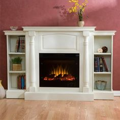 decorology: Autumn is here! Fireplace decorating ideas