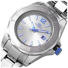 Oniss ON8183-TUN Men's Watch All Tungsten Stainless Steel Case And Band