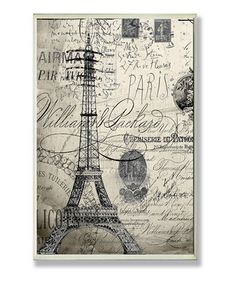 I need some Paris/Eiffel Tower themed decor for my home!!