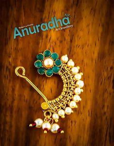 Nose Ring Jewelry, Nose Rings, Jewelry Art, Marathi Nath, Marathi Bride, Maharashtrian Jewellery, Mehendi, Crochet Earrings, Ornaments