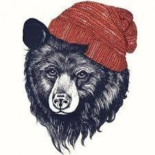 Znalezione obrazy dla zapytania bear tattoo oldschool