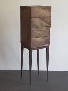 "Schmuck-Kommode ""Bronze-Chest"", Echtmetall Möbel, organic Design, Möbelkunst, furniture Art, Weimann Möbelmacher, liquid metal,"