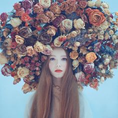 Oleg Oprisco, conceptual photographer.   www.oprisco.com built using http://format.com  | flowers | headdress | fashion | art |