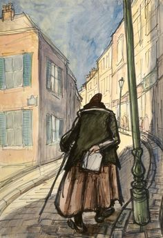 A painting by Norman Cornish
