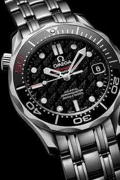 To celebrate fifty years of James Bond films, Omega is releasing a special update of the popular Seamaster Diver 300m James Bond watch which has been worn by 007 in every adventure since GoldenEye.