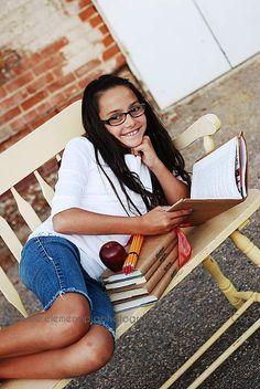 School pics- tween girl
