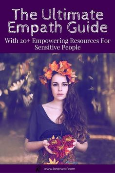 Every sensitive and empathic person needs to learn powerful ways to ground, center, and regain inner strength in the middle of life's chaos. Read + bookmark this precious resource ... via @LonerWolf Spiritual Growth, Spiritual Wellness, Spiritual Life, Healer, Intuition, Highly Sensitive Person, Sensitive People, Intuitive Empath, Psychic Empath