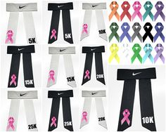 23c375f5354ea Autism Awareness Custom Nike Dri-Fit Head Tie Headband 2.0 White ...