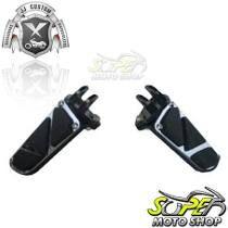 Pedaleiras Dianteira Modelo Laser Hd Xl 1200 Harley Davidson