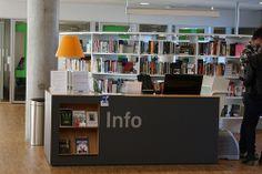 Lørenskog bibliotek | customer service desk