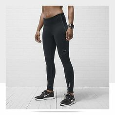 NWT $90 Nike Element Shield Women's Running Tights Wind Water Resistance 381052
