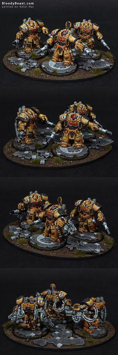 Imperial Fists Centurion Devastator Squad