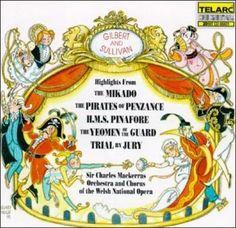 Charles Sir Mackerras - Gilbert & Sullivan:Highlights, Blue