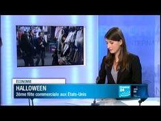 FRANCE 24 JT de l'éco - Halloween : 2ème fête commerciale aux Etats-Unis - YouTube
