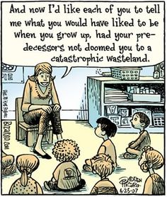 Kids finding out about how #LOLGOP caused the wasteland
