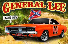 This car had been use in the movie duke of hazzard . My Dream Car, Dream Cars, Classic Trucks, Classic Cars, General Lee Car, Chevy, Dukes Of Hazard, 1969 Dodge Charger, Southern Pride