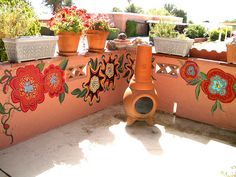 Mexican Garden wall. For my brick wall