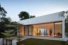 Mandai Courtyard House, Singapore, by Atelier M+A