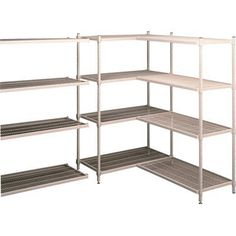 Tennsco Wire Shelving Unit - 4-Shelf, 72in.W x 24in.D x 75in.H, Model# E-722475-4 by Tennsco. $449.99. The Tennsco Wire Shelving Unit is constructed with heavy-duty steel frames, wire shelves and posts. Each shelf can hold up to 425 lbs. Shelves feature unique Logic Clip to make it easy to add or remove shelves without disturbing other shelves. Electrostatic non-conductive finish resists corrosion. Ideal for use in healthcare, electronics and industrial environment...