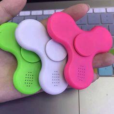 Bluetooth Speaker Fidget Spinner EDC Hand Spinner Anti Stress
