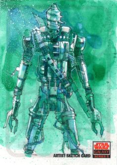IG-88 Galaxy 5 by Mark Mchaley on deviantART