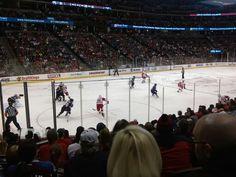 Avs vs Red Wings. Feb. 5, 2015