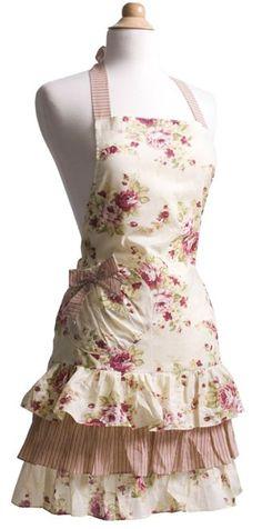 Love vintage looking aprons!