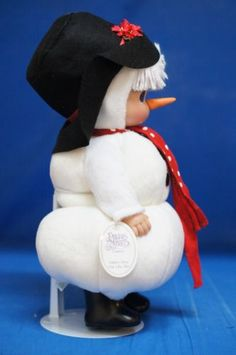 Precious-Moments-12-034-Doll-Signed-4409-There-039-s-Snow-One-Like-You-Snowman-Frozen-A