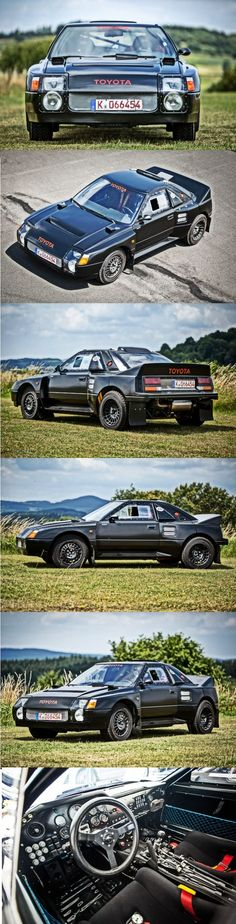 The MR2-Based Toyota 222D