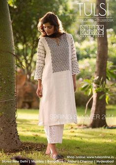 Kurtas from the Spring Summer collection from tulsi online: