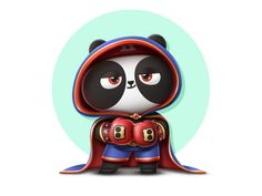 PandaEarth - Panda - My name is Xiang Lu designed by PandaEarth. Connect with them on Dribbble; Cute Panda, Silver Spring, My Name Is, Show And Tell, Character Design, Cartoon, Connect, Illustrator, Bears