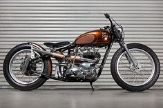 Quoted from: Triumph Custom | Bike EXIF | Classic motorcycles, custom motorcycles and cafe racers