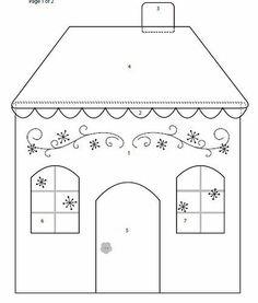 65f7dc76ea6b4974e4d56bca0837af4b--applique-templates ...   House Paper Outline