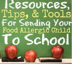 Back to School: 7 Tips for Kids with Food Allergies | Inspired Bites www.realbitessmalltalk.com