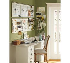 """Can't wait to post my pics..this is my office/scrapbook room/sewing room aka """"fun room"""" but in black and white accents. Olive rust and goldenrod."""