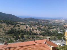 Blick von Scarlino bis zur Bucht von Follonica