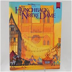 The Hunchback Of Notre-Dame Vintage Book Art Jewellery Stand
