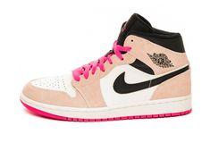 air jordan 1 retro mujer rosas
