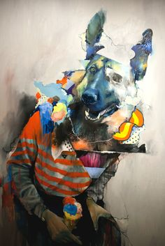 """From """"Oils"""", Joram Roukes exhibition at Signal Gallery, London"""