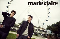 The January issue of Marie Claire Korea features CNBLUE's Jung Yonghwa and Jonghyun, who are snappily dressed in suits and knits as they go around some of Singapore's beautiful locations. . . . Sou...