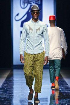 nice to see SA streetwear designer @MercedesBenz Fashion Week Africa  its been a while @CRAIGNATIVE  Photos courtesy Simon Deiner/SDR Photo