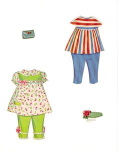 Paper Dolls With Lace On Costumes