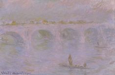 Claude Monet, Waterloo Bridge in London, 1902