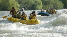 Wenatchee River. Class V in some parts...I did this when I was 15...it is a MUST!