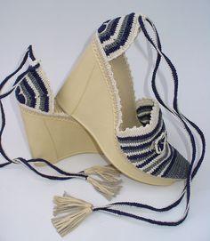 Christina Crochet Wedges created by LeeLu
