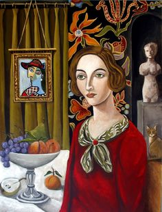 """The Art Teacher,"" Catherine Nolin Art"