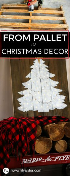 This Flickering Christmas tree will make any Mantel glow!!